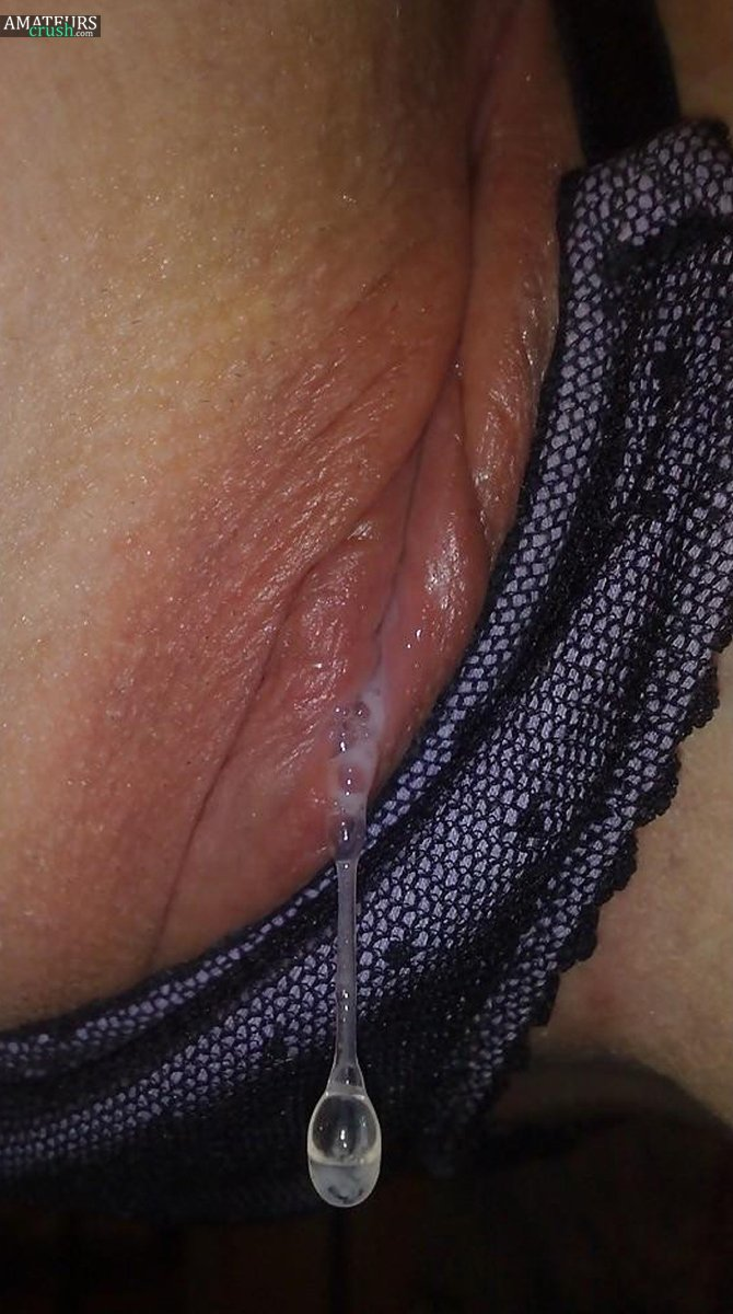 Dripping Wet Pussy Panties