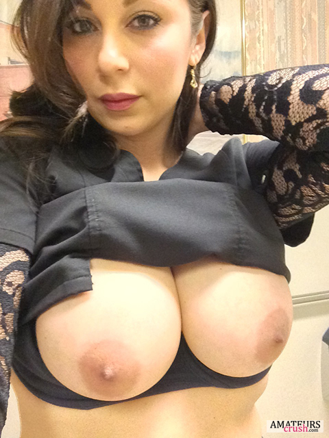 Milf breast nude video