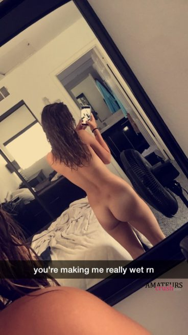 mirror amateur ass of naughty snapchat