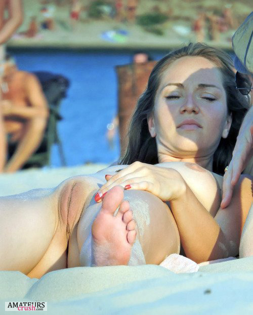 image Amateur girl taking a big black uncut dick