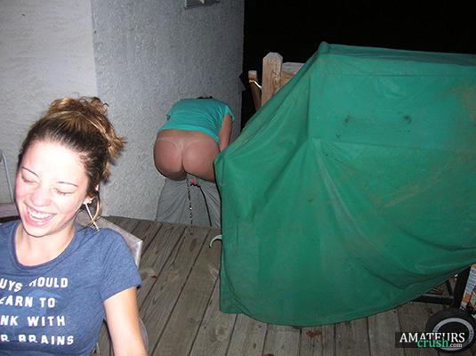 Amature night vision glory hole
