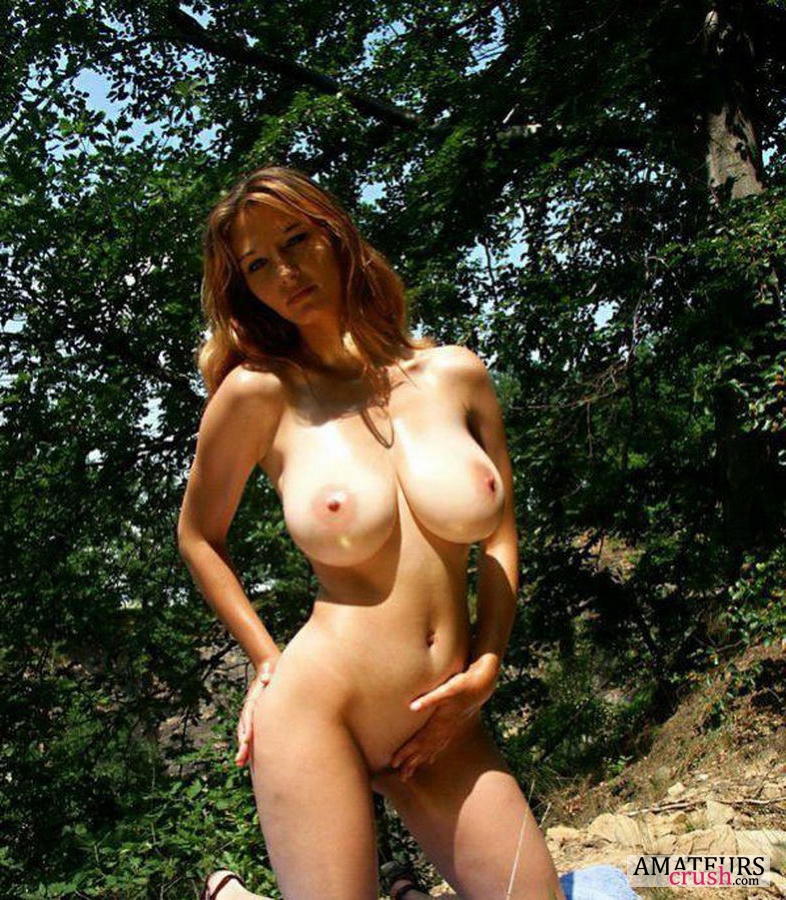 Red hair nude big tits