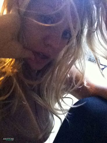 Kaley Cuoco nude selfie of her torpedo tits