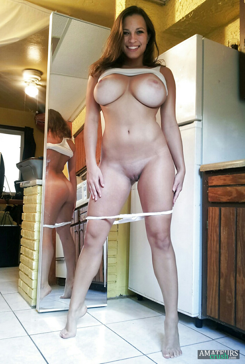 Busty milf is content with this big load 8