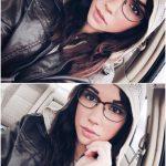 Tumblr babes Missentropyy selfie in car Seattle Waitress FI