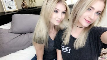 Jenna with her girlfriend in premium snapchat
