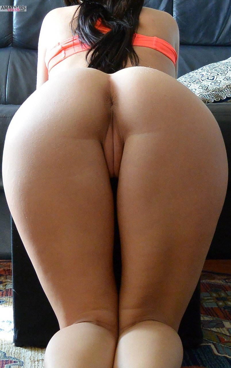 big butt bent over naked