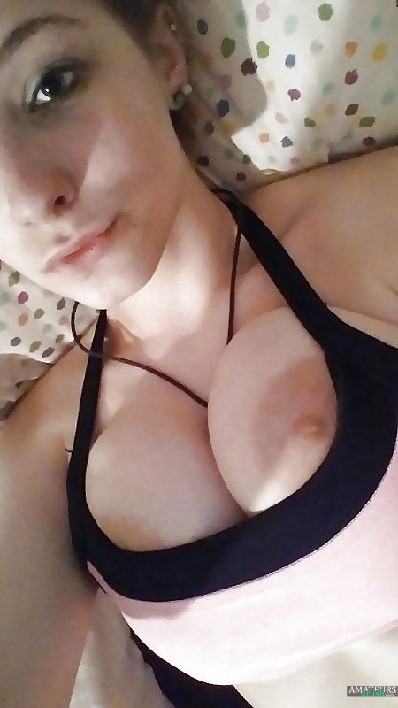 Big Tits Amateur Wife Kitchen