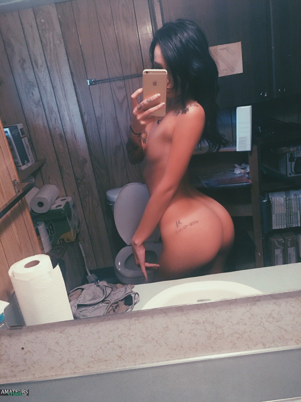 amateur ebony ass naked self shot tumblr