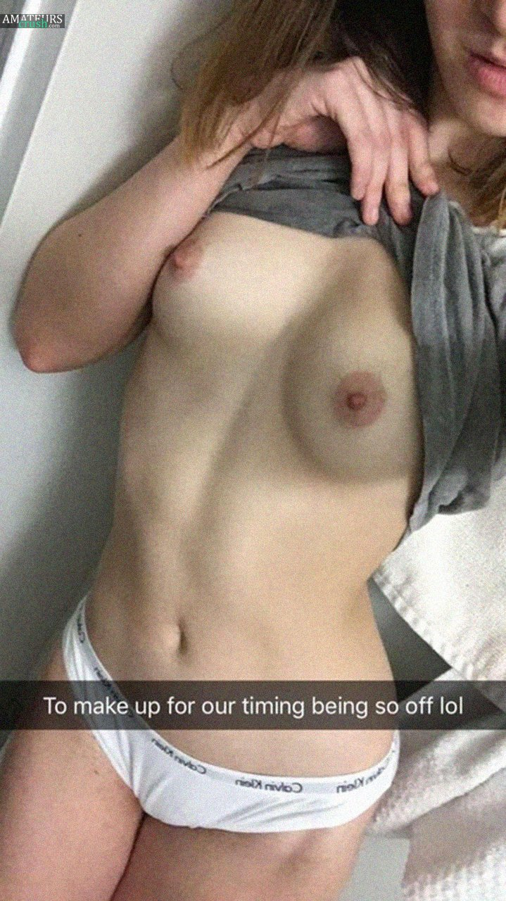 Leaked Snapchat Nudes Collection - 30 Naughty Snapleaks! - AmateursCrush.com
