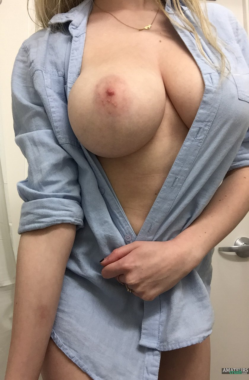 amateur great tits tumblr
