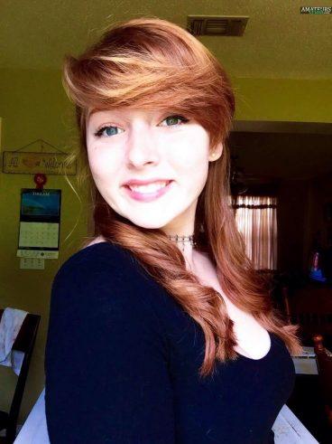 Amazingly cute redhead Tumblr girl Darin