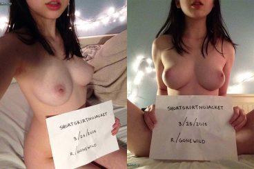 Hot Karen Asian GoneWild ShortSkirtNoJacket reddit amateur verification pic
