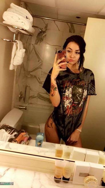 Tumblr ShittyMermaid selfie hot tattoo girl collection