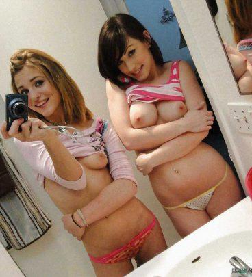 Sexy teen girls flashing tits selfshot cuteys
