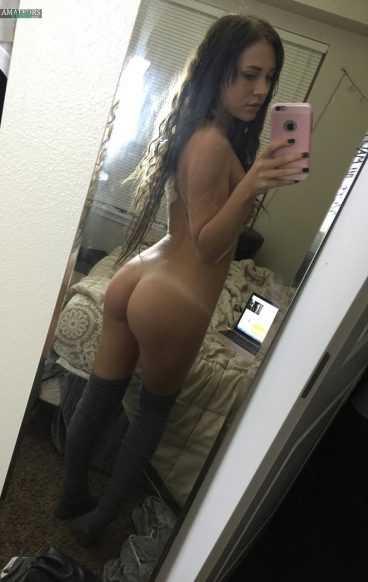 Fractalacidfairy with blackhair juicy ass selfie