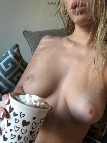 Morning tits Chaturbate hot girl selfshot
