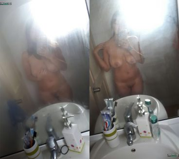 Fresh morning my ex nude pic shower