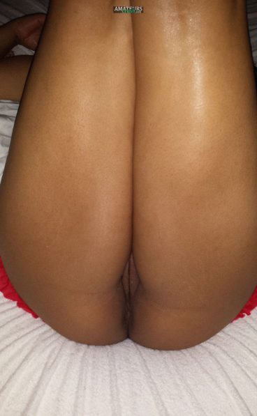 Sweet Asian vagina legs up girlflriend