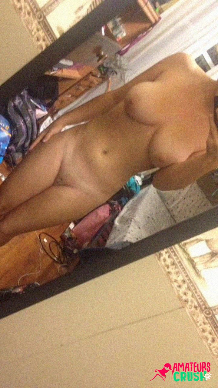 Super hot young big college tits ex GF selfies exposed