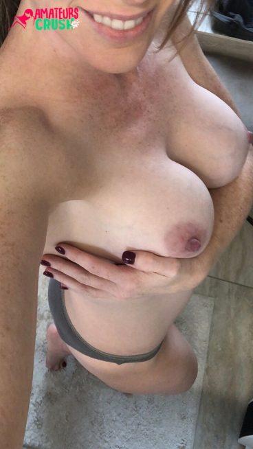 Hot bigboobs mum selfie topless porno 41F