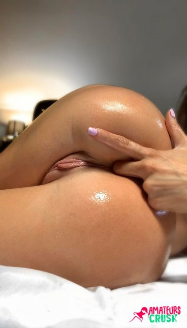 Favorite wet pussy ass fingering nude from behind amateur gal
