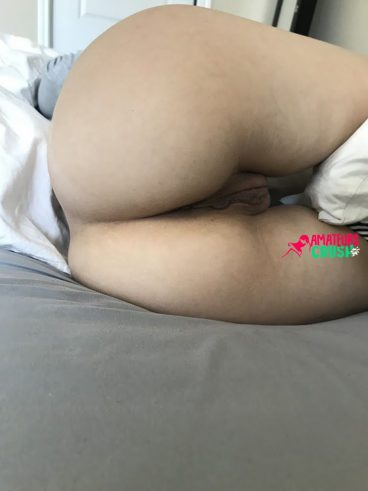 homemade exposed GF meaty pussy thick ass porno