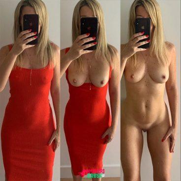 Sexy ex femme nue habillée nue chaude
